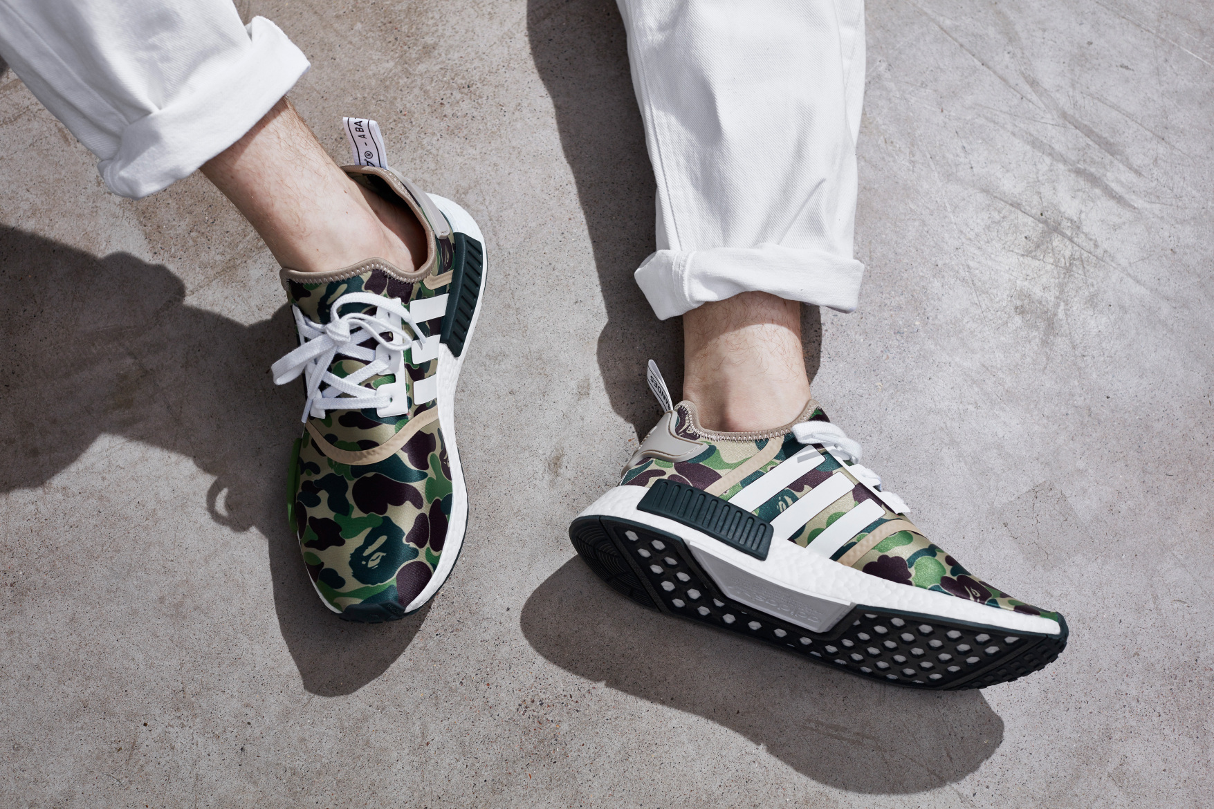 La adidas Originals NMD x A Bathing Ape : la pépite de la collab'