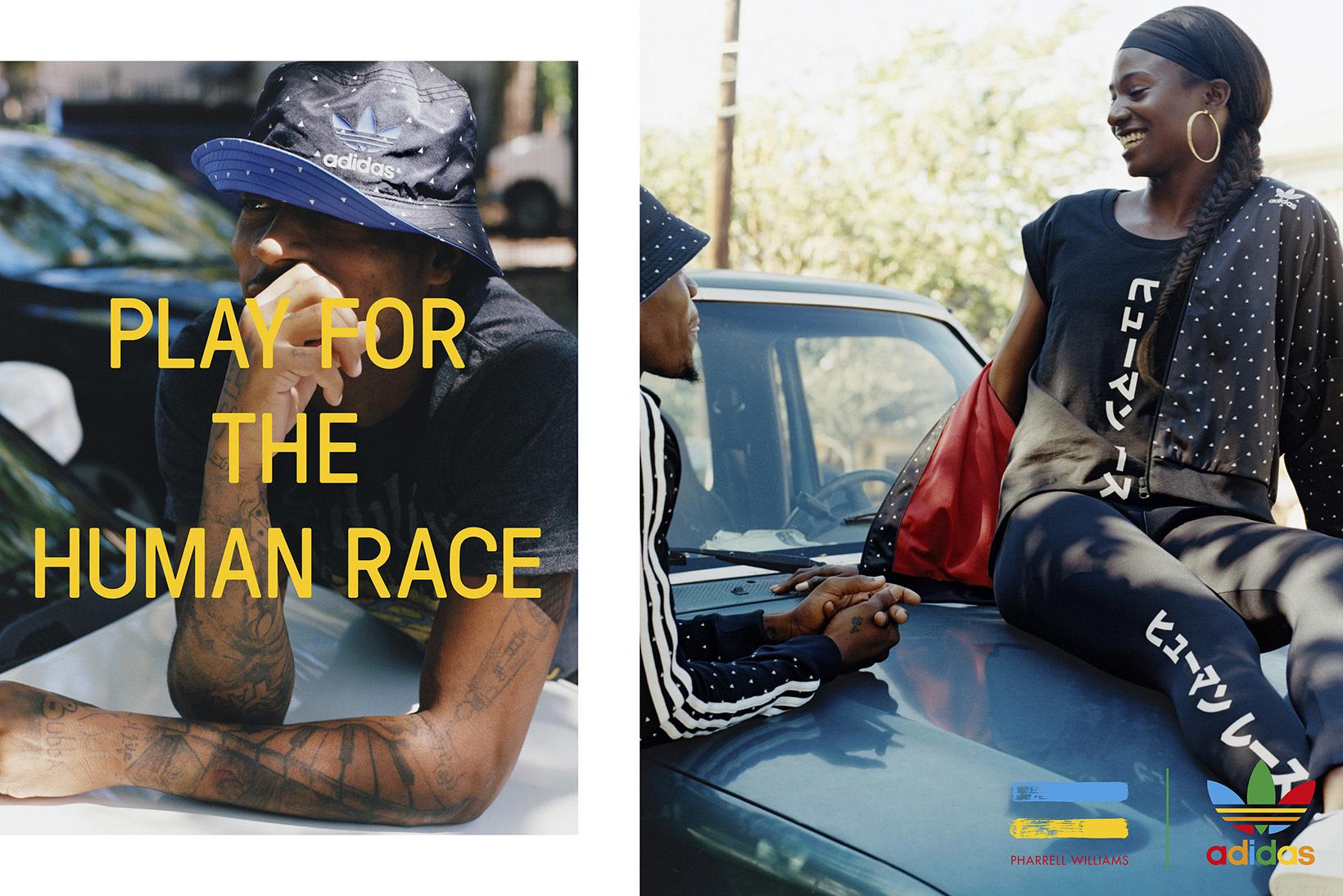 Découvrez les premières images de la collection adidas x Pharrell Hu 2016 Holiday