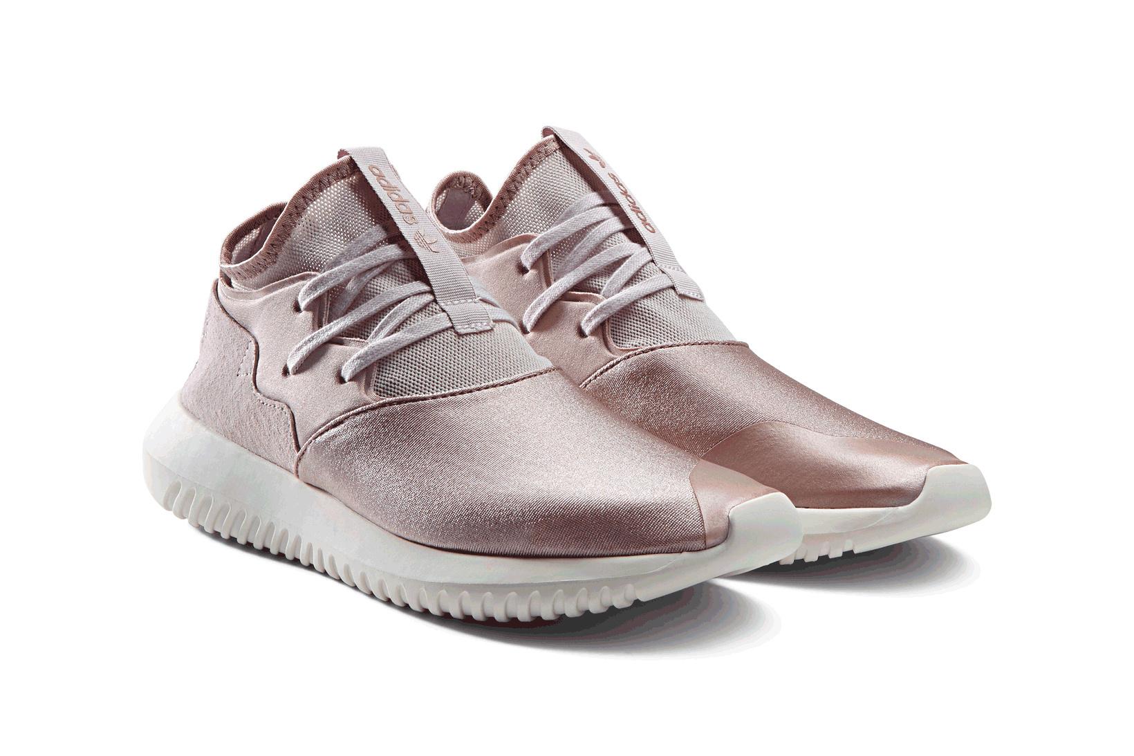 Après la adidas NMD XR1, c'est au tour de la Tubular de se revêtir de rose pâle