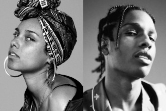 A$AP Rocky & Alicia Keys - Blended Family - TRENDS periodical