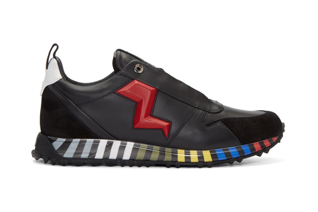 Fendi dévoile une nouvelle sneaker haute en couleurs !