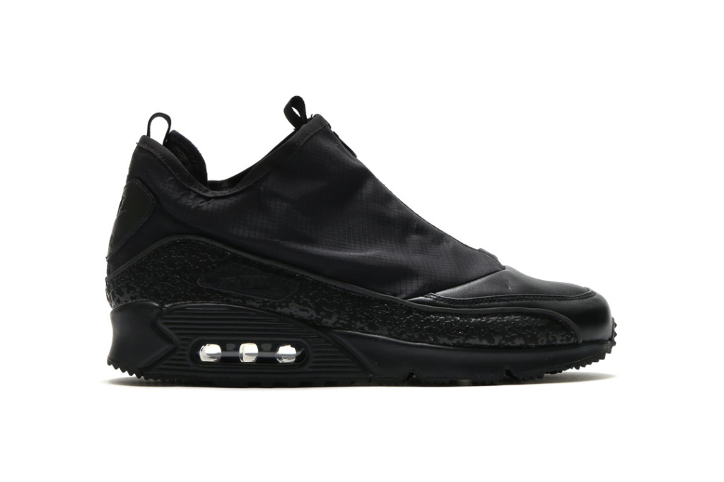Nike a retravaillé la Air Max 90 pour une nouvelle édition Utility «Triple Black»