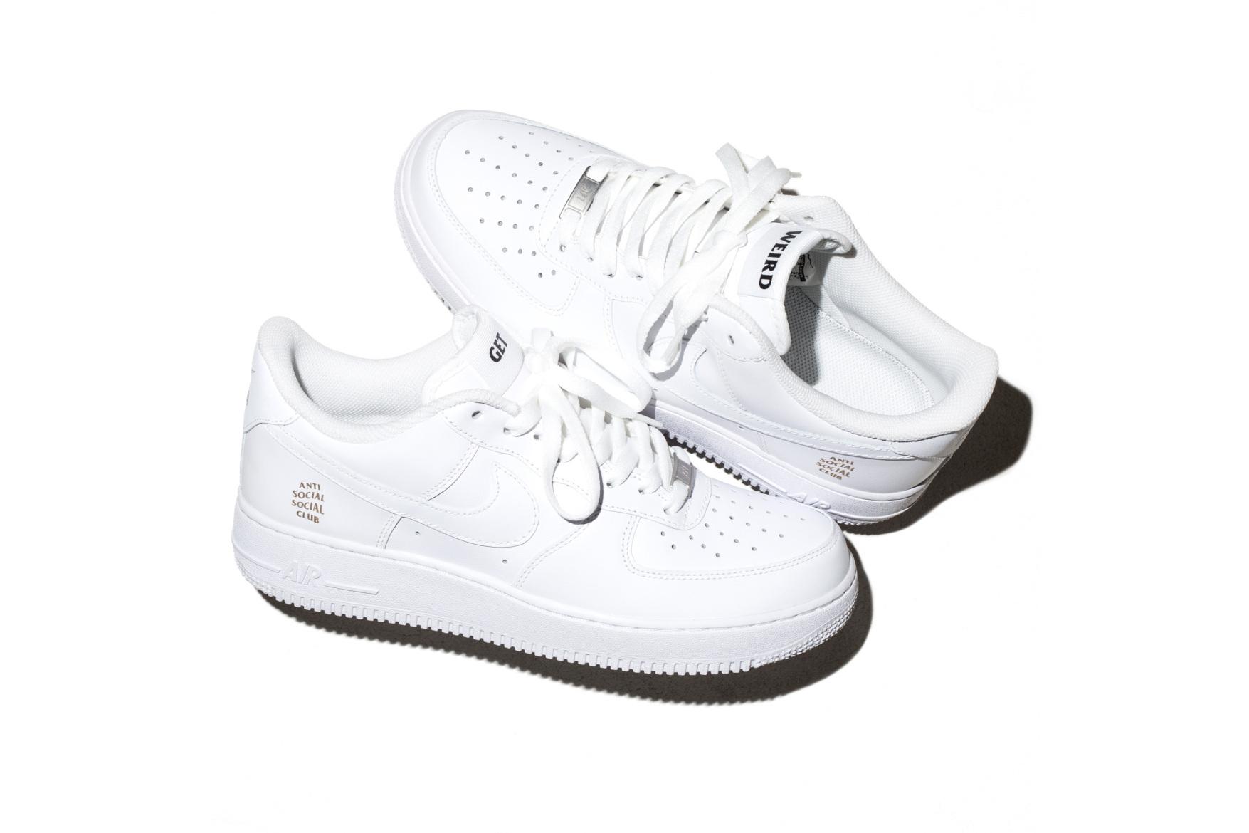 Anti Social Social Club x Nike : une Air Force 1 comme vous ne l'aviez jamais vue !