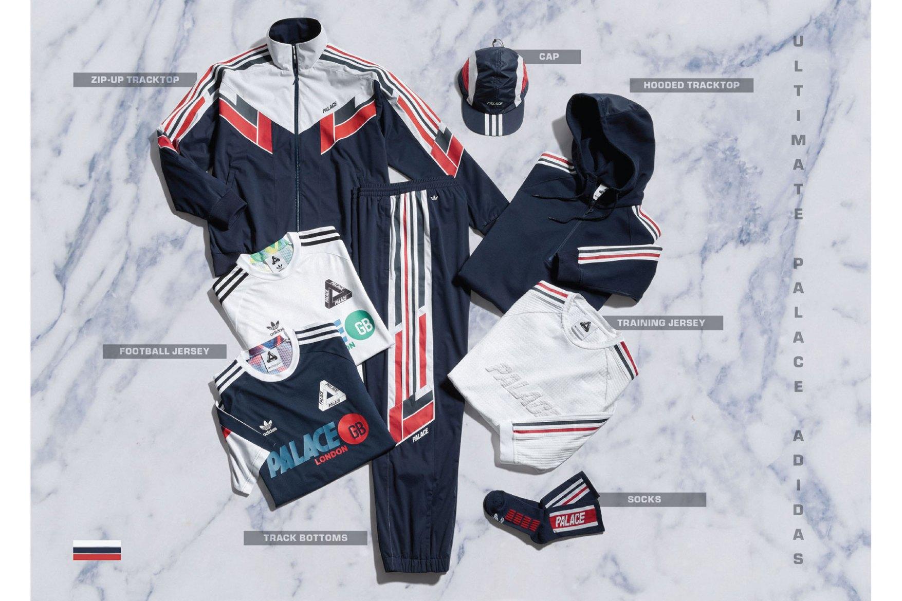 adidas Originals et Palace dévoilent les pièces de leur collab' !