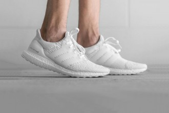 "adidas UltraBOOST 3.0 ""Triple White"" - TRENDS periodical"