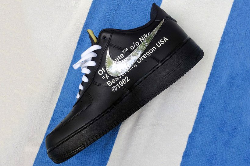 Nike x OFF WHITE : la Air Force de l'hiver !!